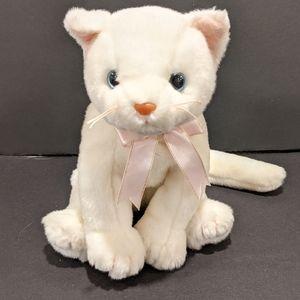 Ty Beanie Buddies Flip white cat plush 1999